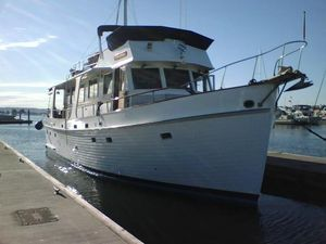 Used Grand Banks Flush Deck Motor Yacht For Sale