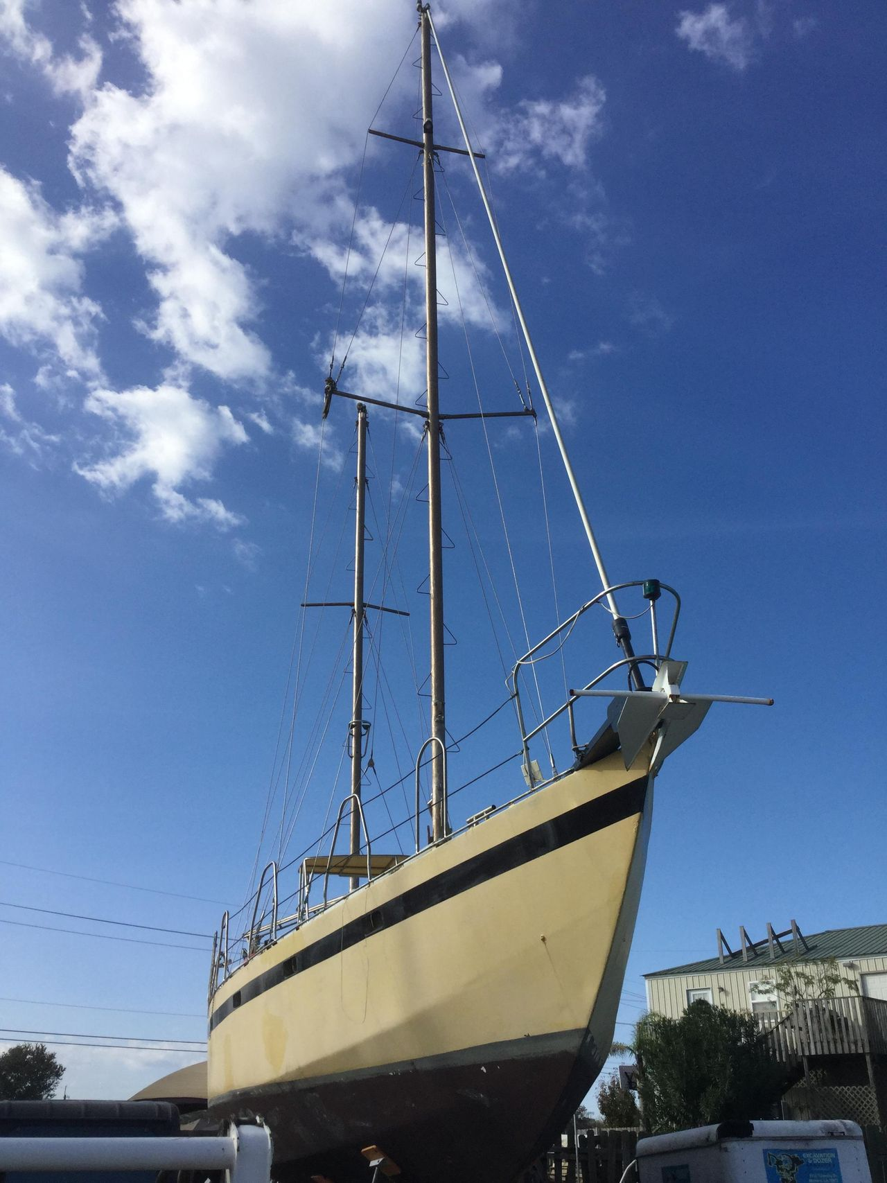 1994 Used Bruce Roberts Offshore 44 Ketch Sailboat For Sale