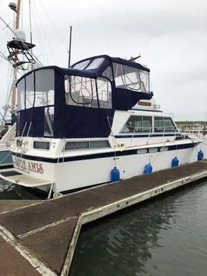 Used Uniflite 36 Double Cabin Motor Yacht For Sale