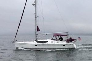 Used Hunter 45 Deck Salon Deck Saloon Sailboat For Sale