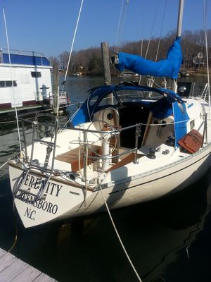 Used Columbia 9.6 Sloop Sailboat For Sale