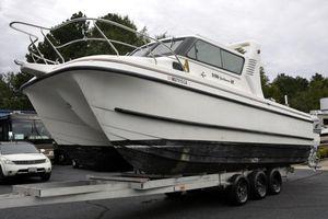 Used Sportsman 3100 HT Power Catamaran Boat For Sale