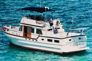 Used Jefferson Raised Deck Trawler Boat For Sale