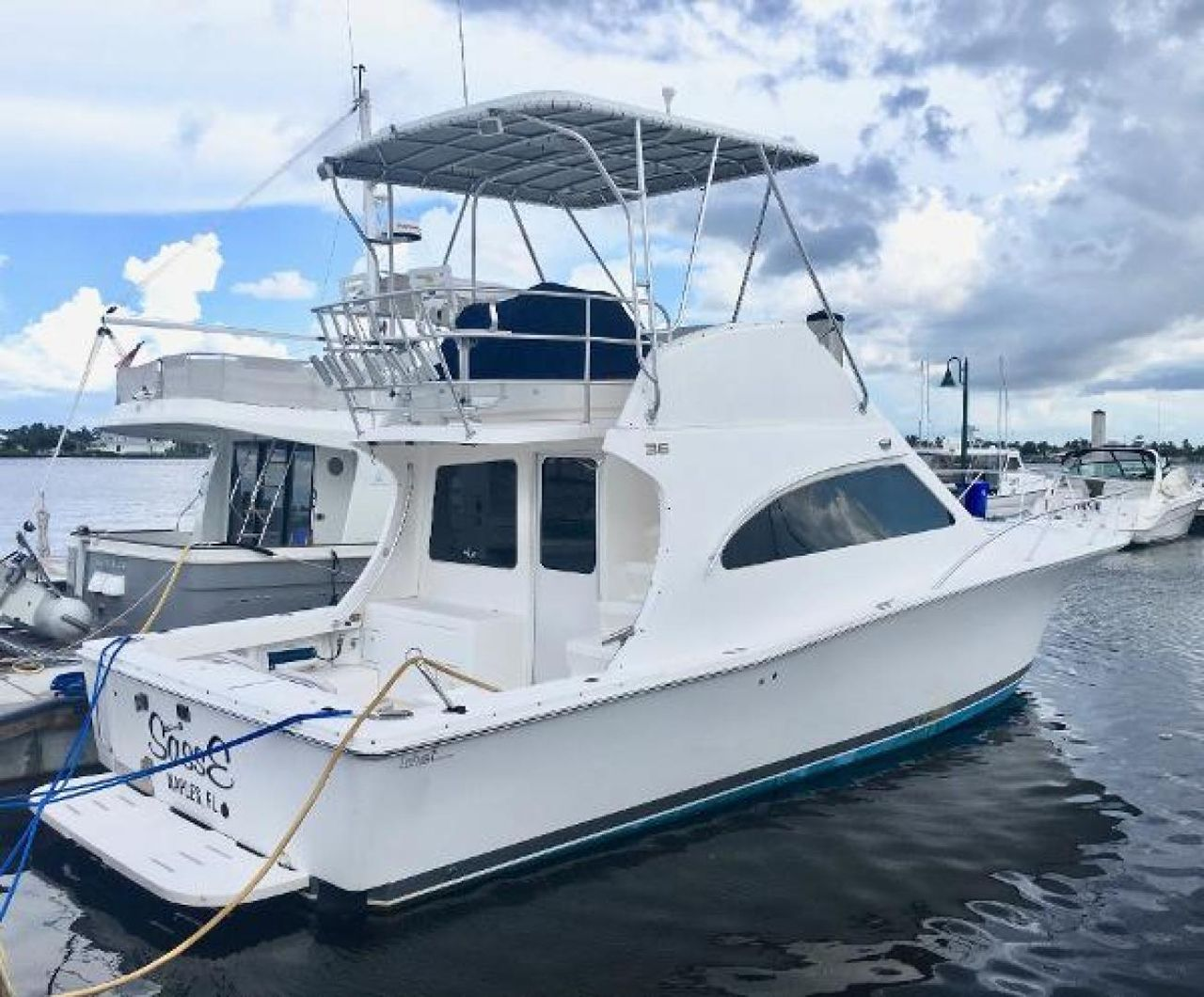 Fishing Boats For Sale >> 2004 Used Luhrs Saltwater Fishing Boat For Sale 149 000 Naples