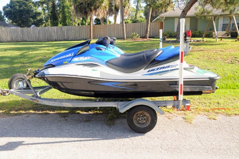 2007 used kawasaki pwc personal watercraft for sale