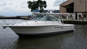 Used Rampage 34 Express Cruiser Boat For Sale