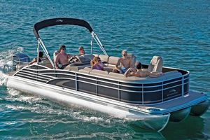 Used Bennington 2575 Rcwcp Pontoon Boat For Sale