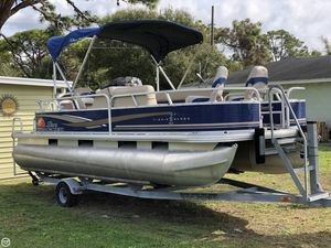 Used Sun Tracker 20 DLX Pontoon Boat For Sale