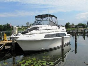 Used Carver 3297 Mariner Convertible Fishing Boat For Sale
