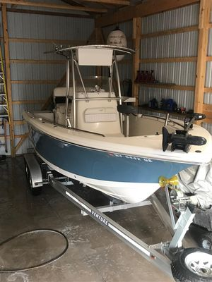 Used Tidewater 216 CC216 CC Center Console Fishing Boat For Sale