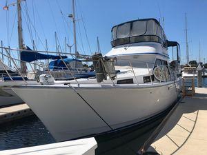 Used Kha Shing Nautique 42 Convertible Fishing Boat For Sale