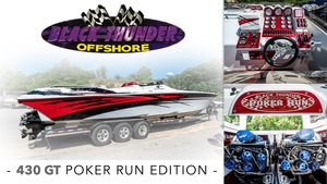 Used Black Thunder 430gt Poker Run Edition Sports Cruiser Boat For Sale