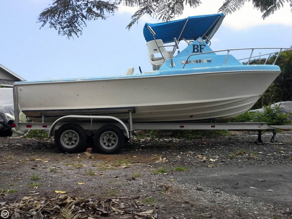 Used Bertram 21 Sports Fishing Boat For Sale