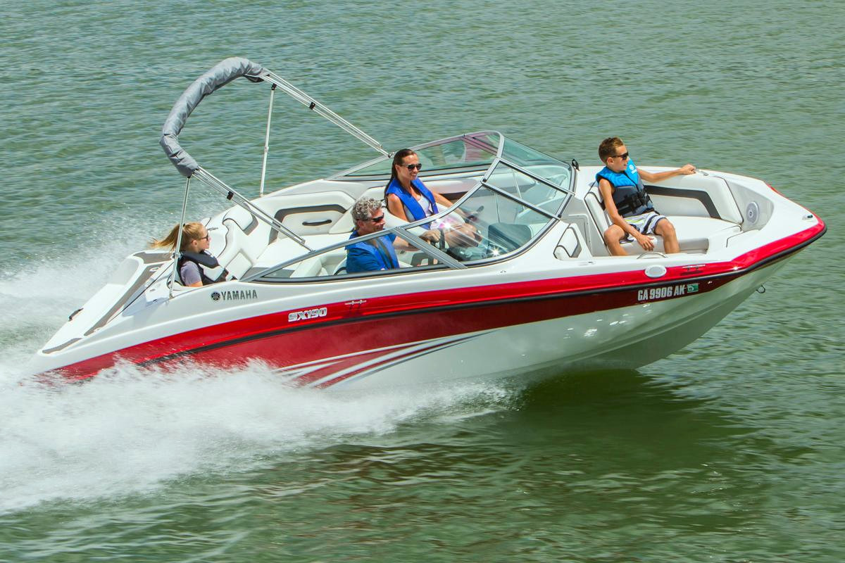 New Yamaha SX190 11357 Bowrider Boat For Sale