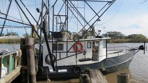 Used Oil Screw 40 Commercial Boat For Sale
