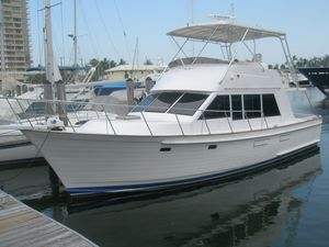 Used Island Gypsy Semi Displacement Trawler Boat For Sale