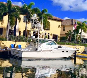 Used Tiara 43 Open W/tower Sports Fishing Boat For Sale