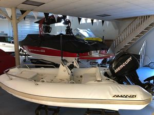 Used Mercury Inflatables 11'amanzi Tender Boat For Sale