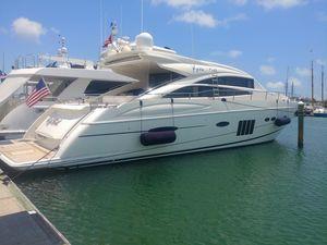 Used Princess V72 Express Cruiser Boat For Sale