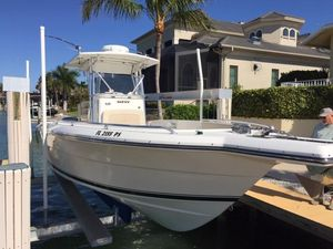 Used Stamas 317 Tarpon Center Console Fishing Boat For Sale