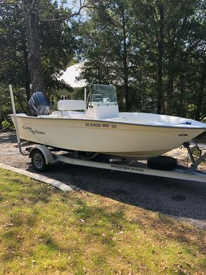 Used Cape Horn 17' Center Console Center Console Fishing Boat For Sale