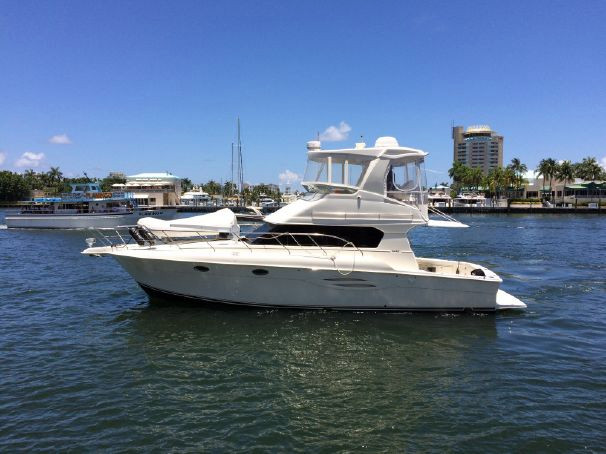 Used Silverton 42 Convertible Fishing Boat For Sale