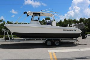 Used Twin Vee 2626 Power Catamaran Boat For Sale