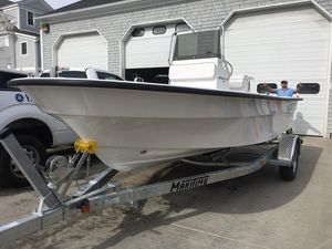 Used Maritime 189 Defiant Center Console Fishing Boat For Sale