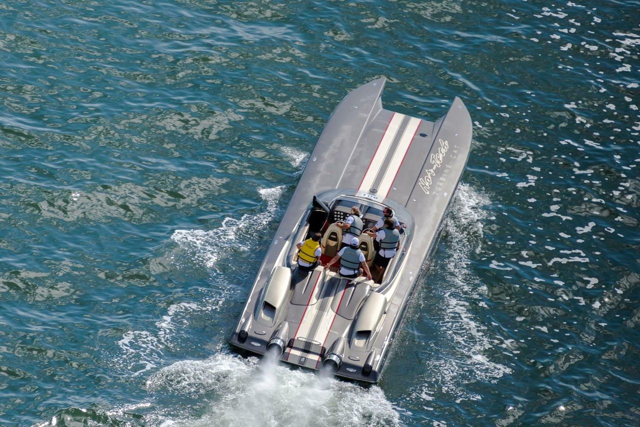 2007 Used Nor-Tech Supercat 5000 High Performance Boat For
