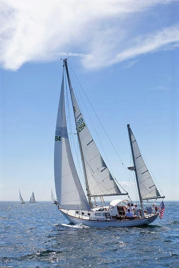 1966 Used Allied Seabreeze Sloop Sailboat For Sale - $29,500