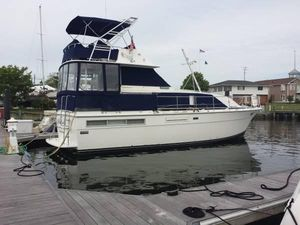 Used Bertram 42 Flybridge Motor Yacht Motor Yacht For Sale