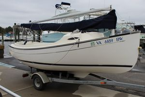 Used Com-Pac 17 Sun-cat Daysailer Sailboat For Sale