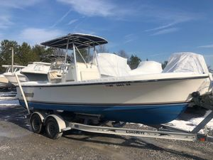 Used Shamrock 220 Open Center Console Fishing Boat For Sale