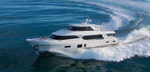 Used Ocean Alexander Skylounge Mega Yacht For Sale