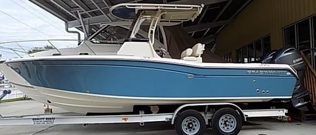 2019 New Grady-White 257 Fisherman Center Console Fishing