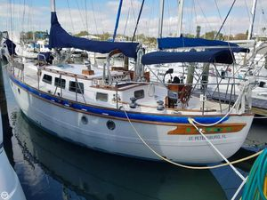 Used Spindrift 43 Pilothouse Cutter Sailboat For Sale