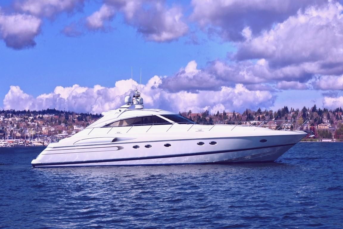 2003 Used Princess V65 Express Cruiser Boat For Sale 499 500