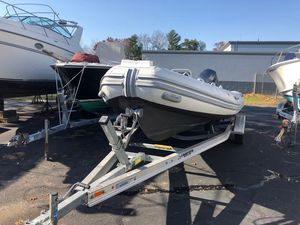 Used Caribe UB 20 SC Rigid Sports Inflatable Boat For Sale