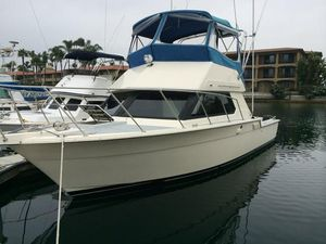 Used Hatteras 32 Flybridge Convertible Fishing Boat For Sale