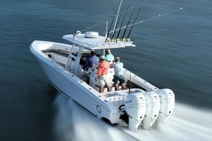 New Fountain 38 CC Center Console Fishing Boat For Sale