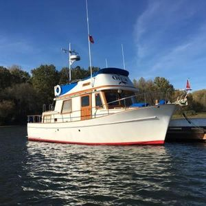 Used Chb 34 Tri-cabin Trawler Boat For Sale