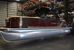 New Sanpan SP2500SBWSP2500SBW Pontoon Boat For Sale