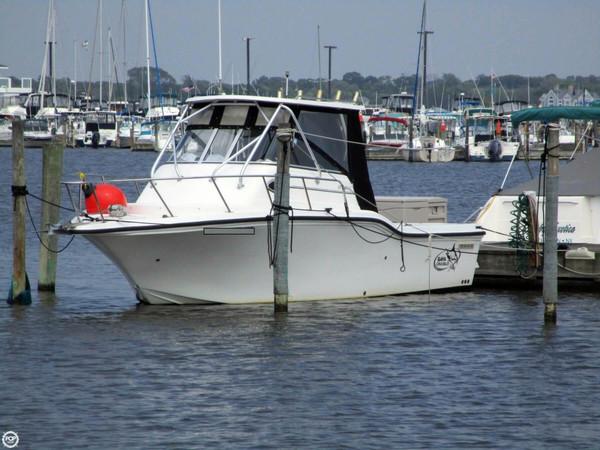 Used Baha Cruisers 257 WAC Walkaround Fishing Boat For Sale