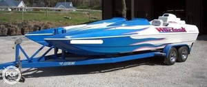 Used Warlock 23 Warrior High Performance Boat For Sale