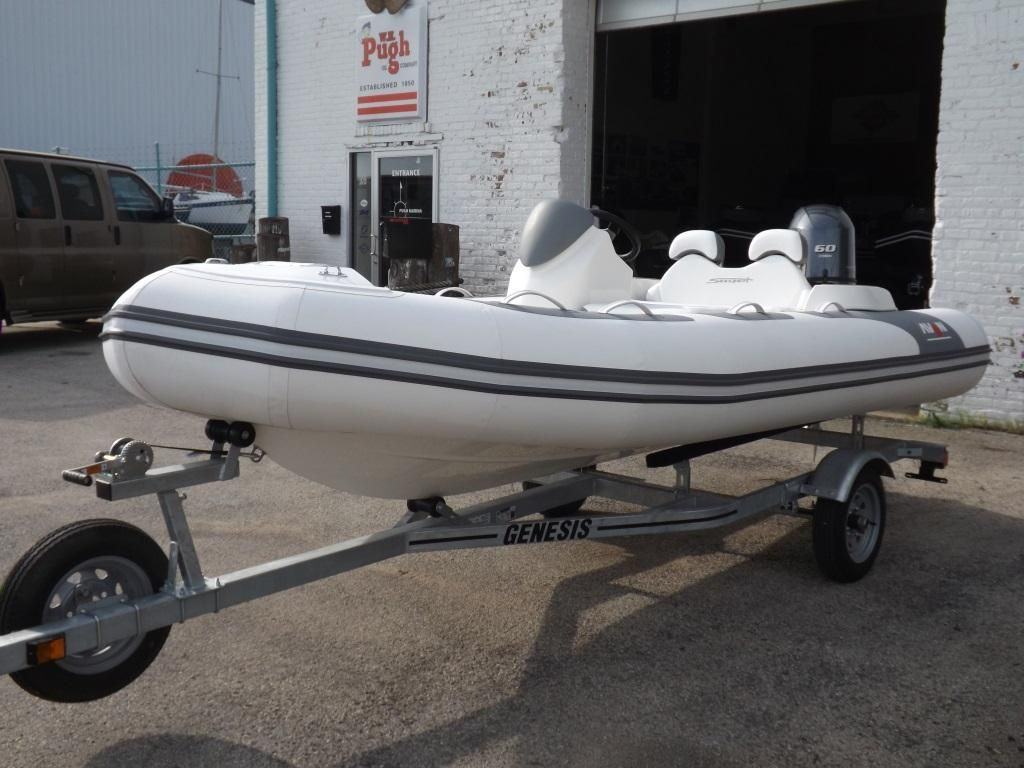 2019 New Avon Seasport 440 Deluxe NEO 60HP IN Stock Rigid