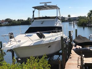 Used Silverton Convertiible Convertible Fishing Boat For Sale