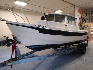 Used C-Dory 22 Angler Freshwater Fishing Boat For Sale