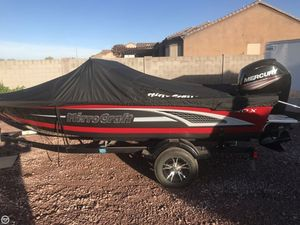 Used Mirrocraft Aggressor F1663 Aluminum Fishing Boat For Sale