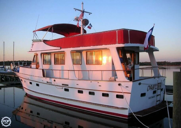 Used Marine Trader 50 MY Trawler Boat For Sale