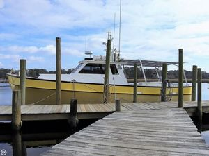 Used Alex Willis 45 Pilothouse Boat For Sale